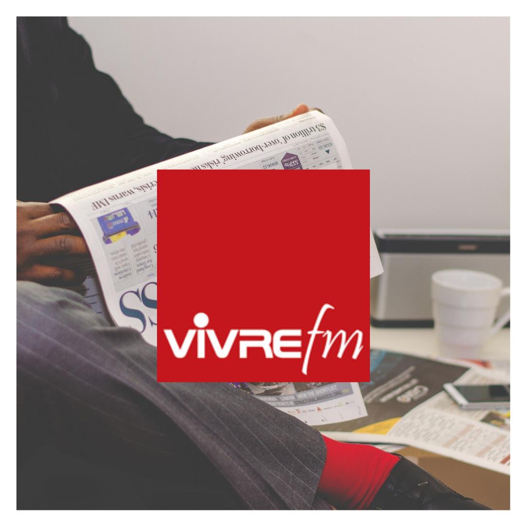 Emmanuelle BUREL et Jean-Philippe DRU étaient sur Vivre FM 6
