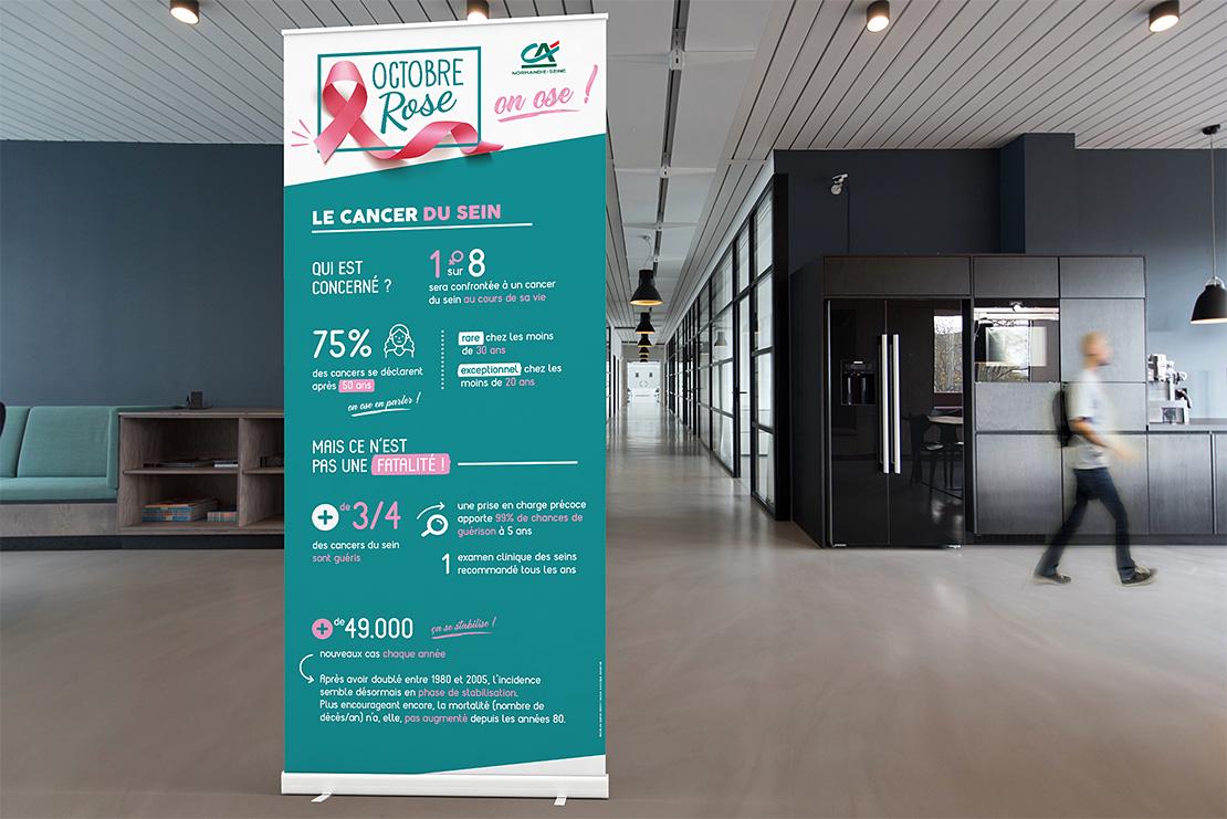 Crédit Agricole Normandie Seine Cancer au Travail 3