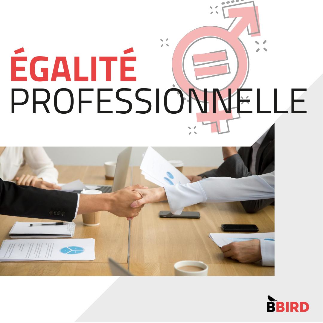 Visuel d'illustration de l'égalité professionnelle