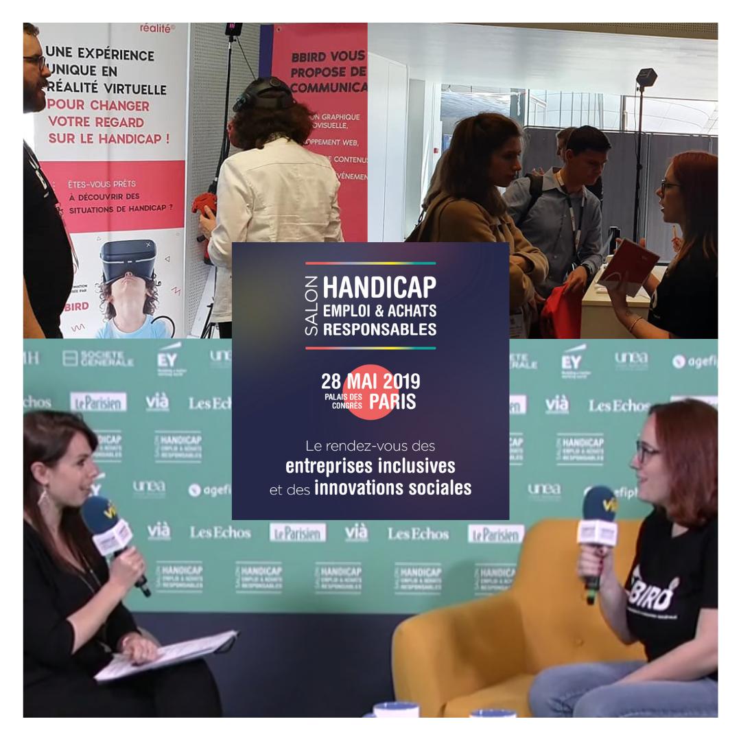 Salon Handicap & Achats Responsables Emmanuelle Burel
