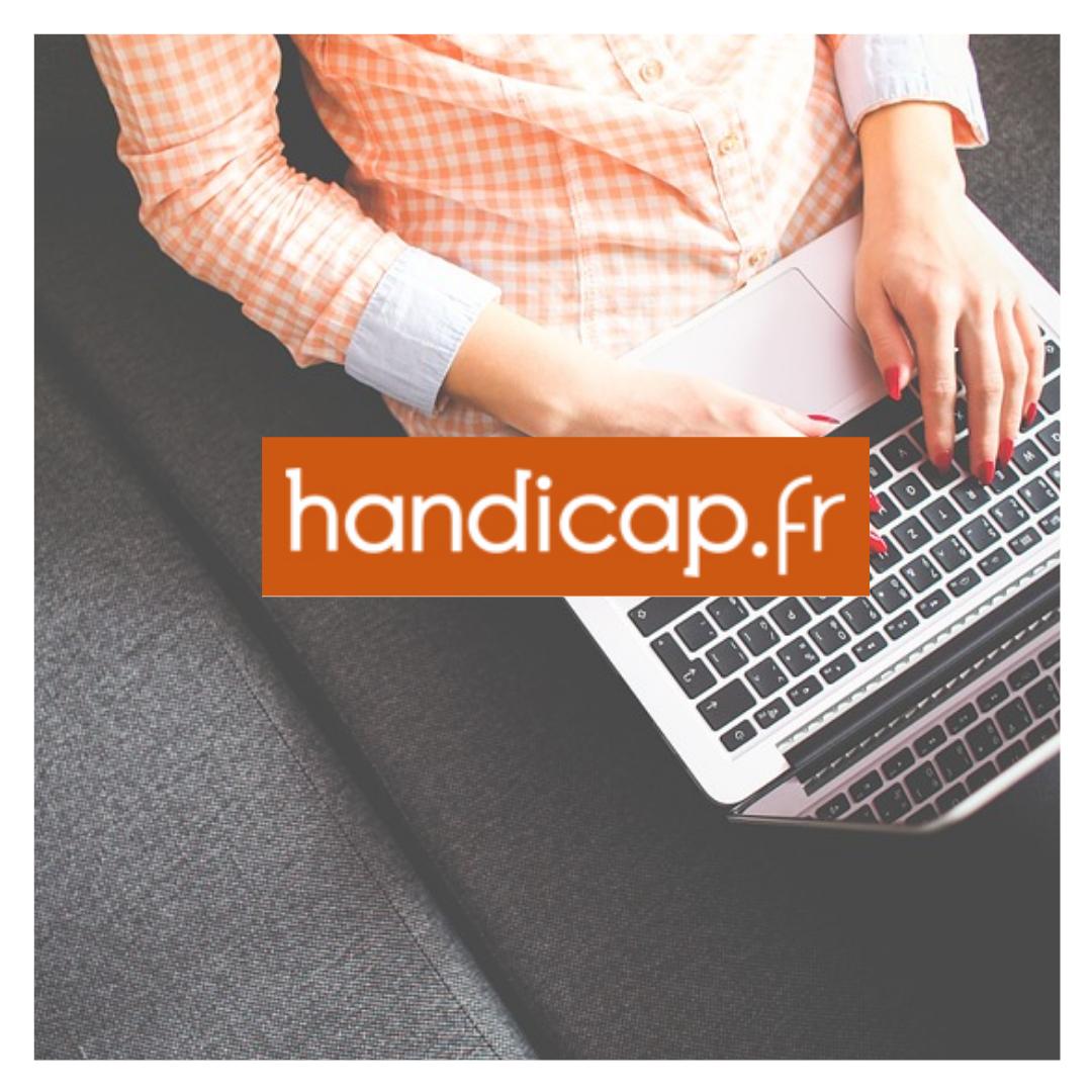 visuel handicap.fr site et logo
